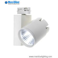 30W Lm80 Energy Star estándar COB LED Track Light