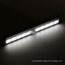 Rechargeable PIR Motion & illuminate Sensor LED Night Light Magnetic Strip Wall Lighting