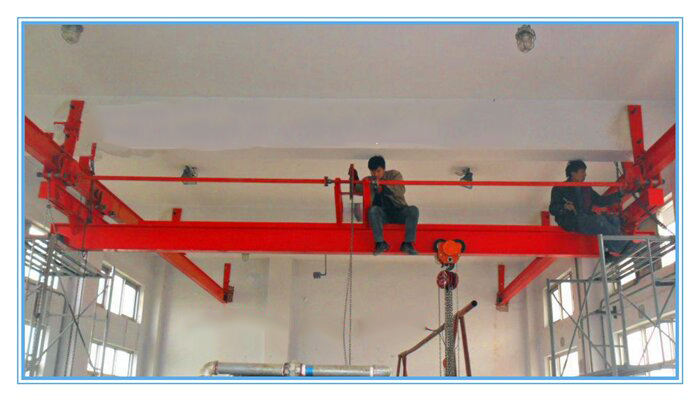 3 ton single beam suspended electric bridge crane