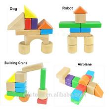 OEM Colorful Wooden Educational Blocks