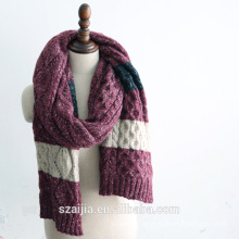 Fashion mens knitted winter long scarf