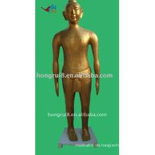 166cm Antike chinesische Akupunkturbronze