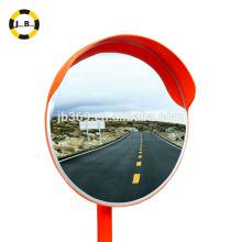 80cm outdoor convex mirror round plastic acrylic lens for road corner