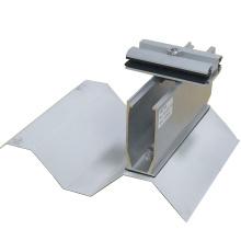Короткая рейка Конструкция на металлической крыше солнечные ФОТОЭЛЕКТРИЧЕСКИЕ установки
