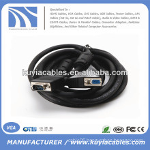 VGA cable male to female ,for Monitor Extension Cable