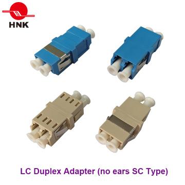 LC Duplex Pas d'oreilles Sc Type Adaptateur Fibre Optique