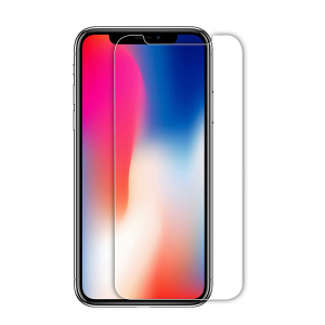 Protector de pantalla ultrafino anti huellas digitales para iPhone X