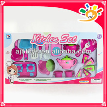 HEISSE Kinder spielen Satzplastikküche-Satz / Kochset / Essgeschirr-Set Spielzeug