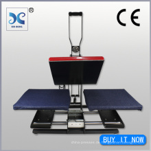 Dual Shuttle Auto-Öffnen Clamshell Heat Press Machine