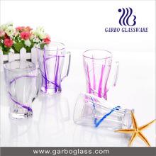 Tasse en verre teintée au 9 oz avec poignée (GB092009IS-P)