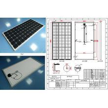 Módulo fotovoltaico monocristalino del panel solar de 36V 305W 310W 315W 320W con TUV aprobado