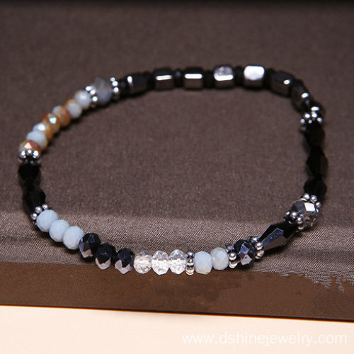 Yiwu Factories Jewelry Crystal Beads Fashion Bracelet Bangle