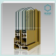 Canal de janela de alumínio extrudido 6063