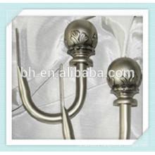 Hangzhou Baihong Classic Pewter Curtain Holdbacks For Window Decorative