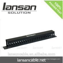 Gestão de cabos plásticos LANSAN 1U