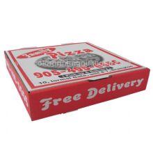 Бумажная коробка - коробка для пиццы 3 для упаковки пищевых продуктов (Pizzabox003)