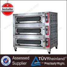 Ce genehmigt Edelstahl K170 freistehende elektrische kleine Brotbacköfen