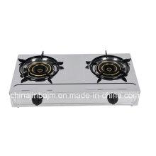 Cuisinière à gaz en acier inoxydable 2 Burner 135 Burner (710 mm)