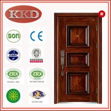 Luxury Dull Polish Steel Door KKD-110 for Cottage Security