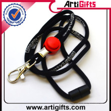 Casting 3d embossed cotton lanyard