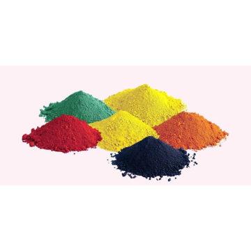 Óxido de ferro (CAS No: 1309-37-1) Vermelho, Amarelo, Azul, Preto, Marrom. laranja