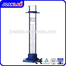 Джоан лаборатории стеклянный Мерный цилиндр с Производство пластиковой основе