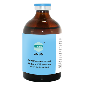 Injection de Sulfamonométhoxine Sodium Composé ZNSN