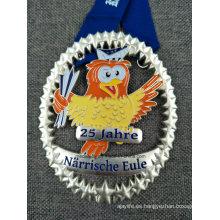 Customer Design Metal Medal con cinta