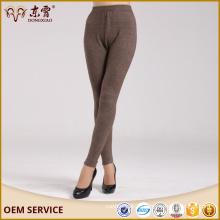 Оптовая Производитель компьютер трикотажные негабаритных кашемир брюки для женщин