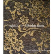 Tela del sofá chenille floral 2014 para Perú