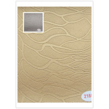 Material de cuero del PVC para el uso de la cubierta y de la silla del sofá con buena calidad