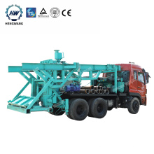 Mobile Big Hole Diameter Rotary Used  Wheel Truck Mounted Water Well Drilling Rig