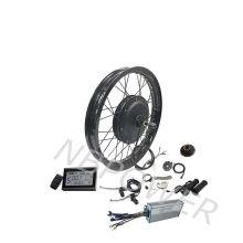 48v 60v 1500w ebike hub motor electric bicycle kit with 19'' motorcycle rim