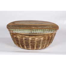 Rattan Coffee tables with Wooden Top