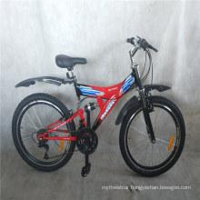 "24 ""Steel Frame Cheap Price Factory Downhill MTB Bikes Adult Mens Bicicleta Full Suspension Mountain Bike"