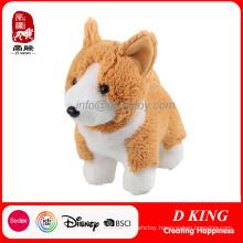 China Factory Custom Plush Toy Corgi Dog Stuffed Animal Toy
