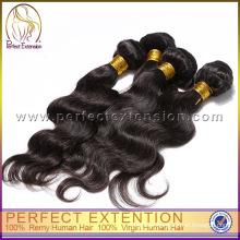 unprocessed body wave brazilian virgin hair,world best hair