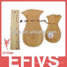 2013 Bolsa de veludo de madeira elegante (amostra livre)