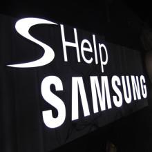 Carta do LED de sinalização de resina epóxi de publicidade