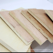 1220X2440mm E1 E0 glue poplar core Okoume Commercial Plywood for furniture