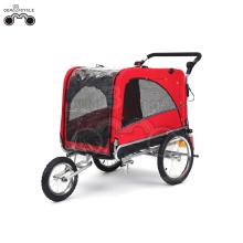 16 'roues-quick release PE caravane vélo remorque