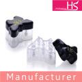 Schmetterling vier Farben Eyeliner Lidschatten kosmetischen Kunststoff-Box
