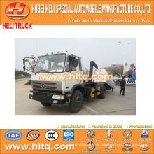 DONGFENG 4x2 10tons 190hp roll-off camión de basura barato y bien de fábrica directa
