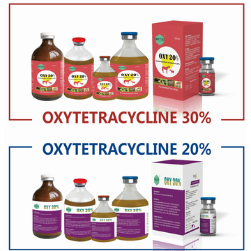 Injection d'oxytétracycline 5% 10% 20% 30%
