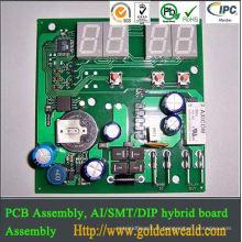 Assemblée de carte PCB de lumière de guichet unique d'assemblage de carte PCB à simple face pour la production d'OEM de sécurité d'avion