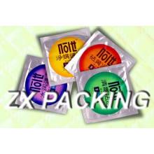 Plastic Quad Seal Bag for Food or Cosmetics