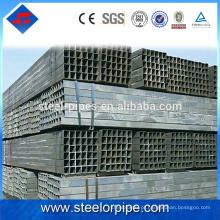 Novos produtos quentes vendidos preto recozimento tubo quadrado de aço