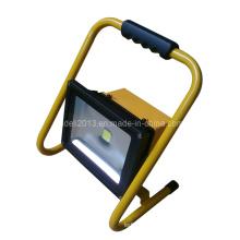 Перезаряжаемый 30W портативный светодиодный прожектор