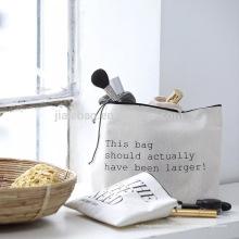 Симпатичные равнины хлопка косметические персонажа из мультфильма холст косметические сумки /цветочный органических упаковывая изготовленный на заказ