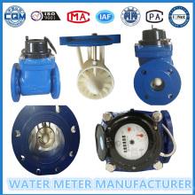 Dn100 Multi Jet Flansch Pulse Wasserzähler, Eisen Material, Kaltwasser Meter